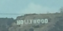 First glimpse of Hollywood