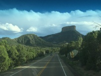 Driving to the Mesa