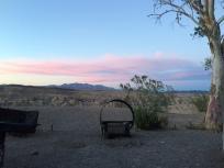 Sunset at Las Vegas Bay