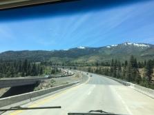 approaching Donner Pass