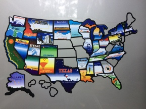 States visited to date