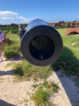3-mile range cannon